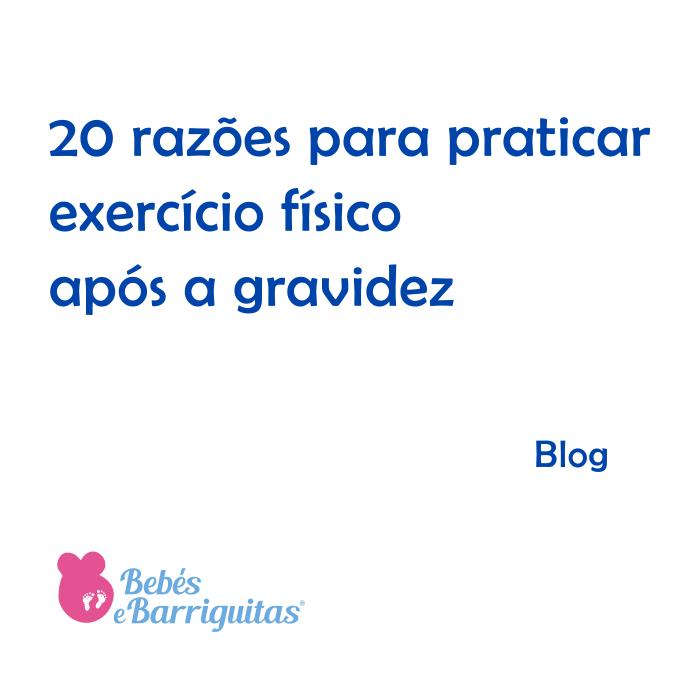 exercício físico pós parto