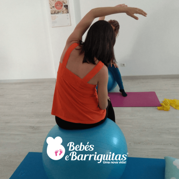 ginástica para grávidas