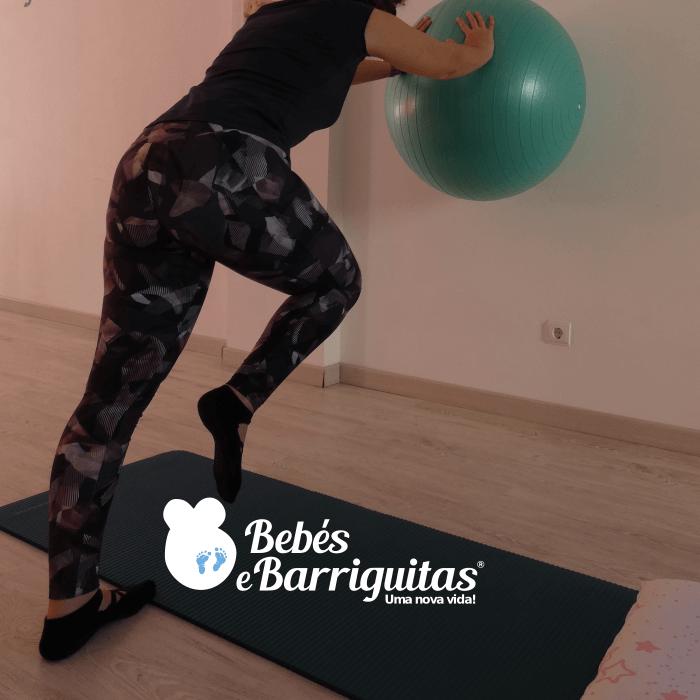 ginástica pós parto